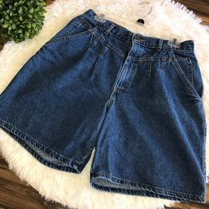 Chic Vintage Jean High Waisted Shorts